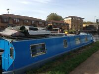 beautiful narrowboat houseboat ready to move in