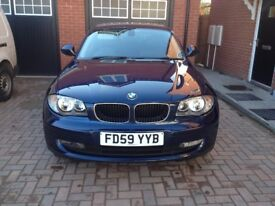 Low mileage auto BMW 120d 177bhp w/FSH