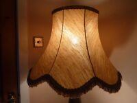 Beautiful Vintage Style Gold Lampshade Excellent Condition