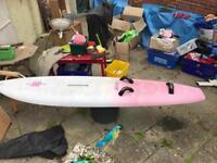 Wind surfing board