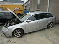 breaking Audi a4 2.5 tdi for parts