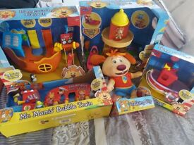Christmas Toys complete Pip Ahoy playsets