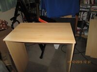 Basic Beech Coloured Desk