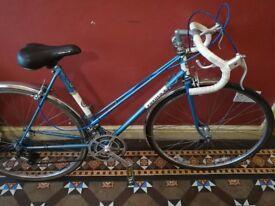 Handmade Povner bike (Reynolds 531 tubing)
