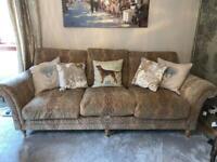 Parker Knoll Burghley Grand Sofa & Armchair