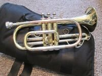 Elkhart 100CR Cornet, used, fully Refurbished, in good playing and working order