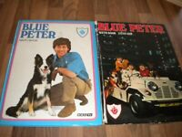 Blue peter annuals Vintage collectable