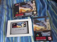 Desert Fighter SNES PAL Game Complete NINTENDO