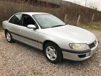 Vauxhall Omega CD V6 2498cc Petrol Automatic 4 door saloon S Reg 05/01/1999 Silver