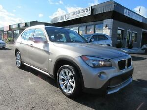 2012 BMW X1 28i (AWD, Red leather, Panoramic roof)