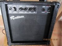 Rockburn 15W Guitar Amp - twin channel with headphone out