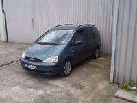 Ford Galaxy 1.9 tdi automatic 7 seater (reduced the price to £600 be go's can't find the log book)
