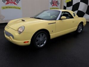 2002 Ford Thunderbird Automatic, Leather, Convertible, Only 109,