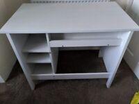 BRUSALI, desk white (IKEA)