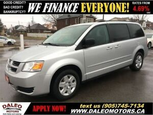 2010 Dodge Grand Caravan SE V6 | 115 KM | 7 PASSENGER CAPT CHAIR