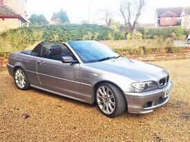 BMW 330 CI CONVERTIBLE GRAPHITE GREY AUTO EXCELLENT CONDITION INSIDE OUT