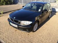 BMW 116i, 2006, 1.6 petrol, 1 series, 5 doors hatchback, full service history, 41K miles, HPI clear