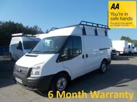 Ford Transit 300 2.2 TDCi 100 SWB M/Roof***DIRECT FROM LEASE Co***
