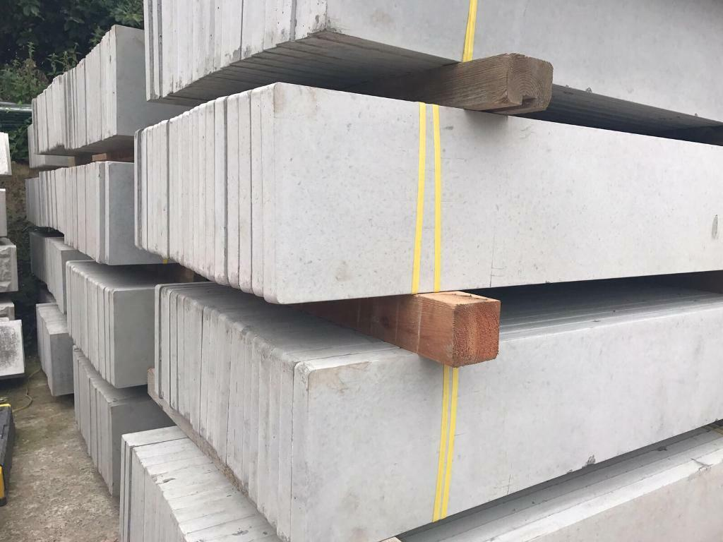 🦋Plain Concrete Fencing Base Panels * £8.50