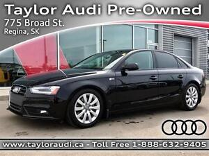 2013 Audi A4 2.0T LOCAL, LOW MILEAGE, STASIS UPGRADES