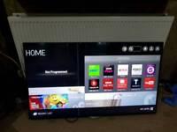 """LG 49UF695V 49"""" 4K Ultra HD Smart Freeview Freesat HD LED"""