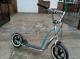 Old bmx scooter