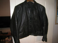 Mens Frank Thomas Leather Jacket