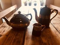 Excellent Sevres Tea Pot, Coffee Pot and Milk Jug