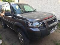 Land rover freelander TD4 4x4 off road 2005