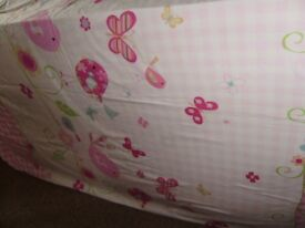 Single duvet cover and matching pair of curtains, from NEXT