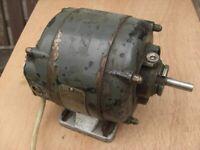 British Thomson Houston A/C Electric motor.