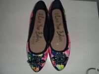 Asda George floral jewel shoes size 5
