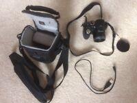 Fuji Finepix S Digital Camera and Bag