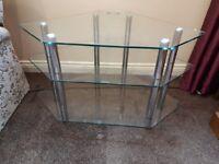 Quality Glass Corner TV Stand