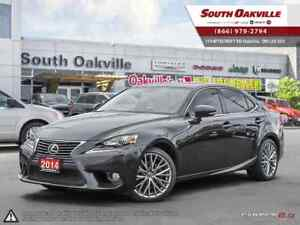 2014 Lexus IS 250 AWD | BLUETOOTH | VENTED LEATHER | SUNROOF