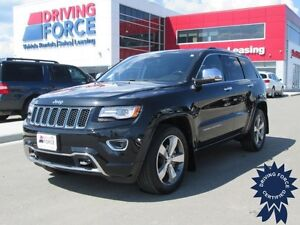 2014 Jeep Grand Cherokee Overland 5 Passenger 4WD, 15,353 KMs
