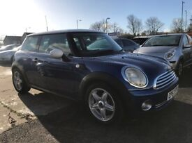 2007 (57 reg) MINI Hatch 1.6 Cooper 3dr Hatchback Petrol 6 Speed Mnaual