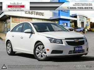2014 Chevrolet Cruze BLUETOOTH!! REAR VIEW CAMERA!! 7 TOUCH SCRE