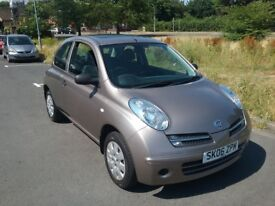 2006 nissan micra s 1.2 AUTOMATIC low miles 33k with s/history recent service New mot vgc drives wel
