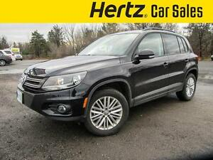 2016 Volkswagen Tiguan SE 4MOTION AWD AIR, AUTOMATIC, POWER GROU