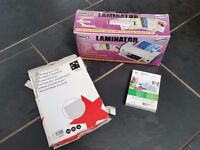 Laminator with pouches