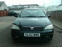 2002 02 VAUXHALL ASTRA 1.6 SXI 5 DR ** MOT MAY 2019 ** TRADE IN TO CLEAR **