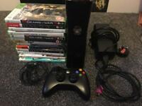 Xbox 360 including games