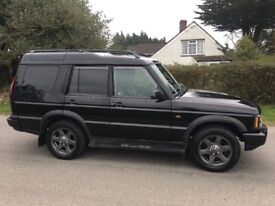 Land Rover Discovery Td5 Es Auto black leather remapped dvd player