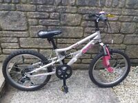 apollo pure girls bike