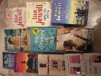 Selection of Lisa Jewell chick lit books
