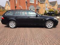 2005 BMW 525 D 2.5 SE TOURING MANUAL BLACK NEW M.O.T LEATHER