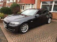 BMW 5 Series 2.0 520d BluePerformance SE, Diesel, 4dr , FSH, Sat Nav, Blue Tooth , Leathers