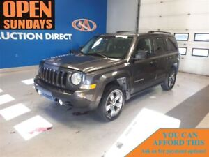 2015 Jeep Patriot HIGH ALTITUDE! LEATHER! 4X4! SUNROOF!