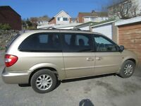 Chrysler Grand Voyager 2.5 CRD breaking for parts